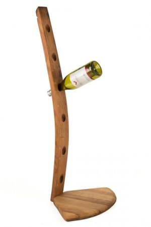 6 Wine Bottle Whisky Barrel Holder
