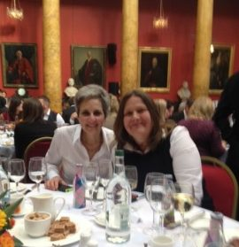 Beth & Fiona attending the Visit Scotland Regional Thistle Awards