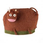 Scottish Wool Highland Cow Tea Cosy