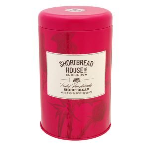 Shortbread House of Edinburgh Dark Chocolate Chip Tin 140g
