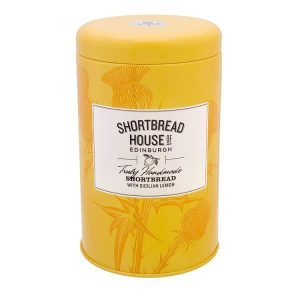 Shortbread House of Edinburgh Lemon Tin 140g