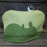 Sheep on a Hill Scottish Wool Tea Cosy