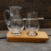 Whisky Barrel Glass and Jug Holder