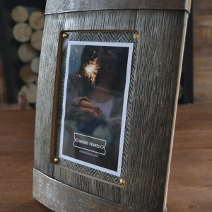 Whisky Barrel Frame - Bilge in Portrait