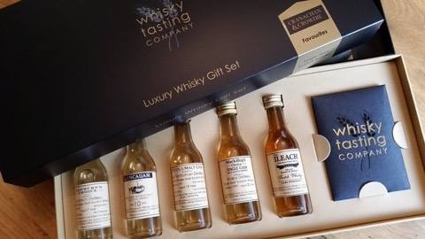 5ac5ef75b8df Limited Edition Luxury Whisky Gift Set Selection