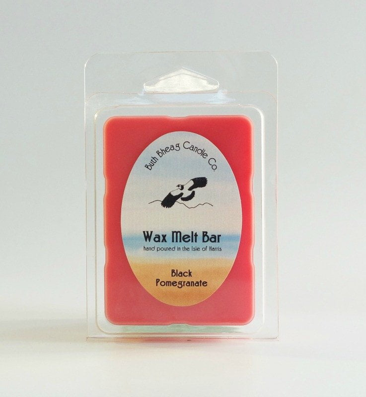 Isle of Harris Wax Melt Bar Seilebost, Black Pomegranate
