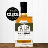 Award winning Gunshot Gin by Gin Bothy