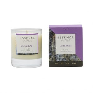 Essence of Harris Seilebost Black Pomegranate Candle